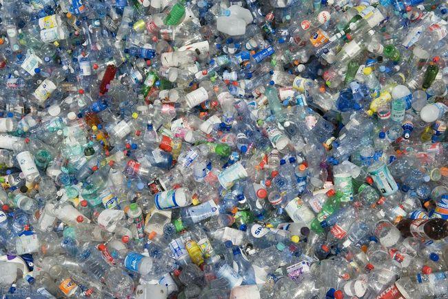 塑料瓶垃圾