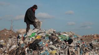 塑料垃圾废弃物