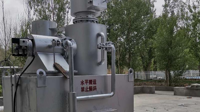新疆新丝绸之路动物园:动物焚烧炉,认准宏利圣得
