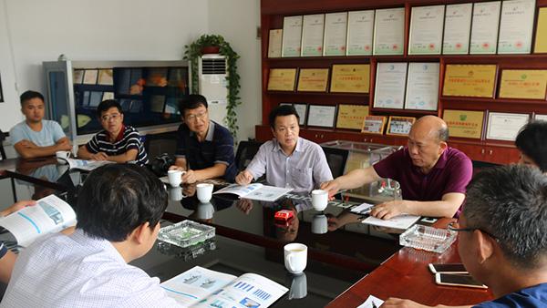 诸城市政府领导陪同贵州市政府领导莅临宏利圣得参观交流
