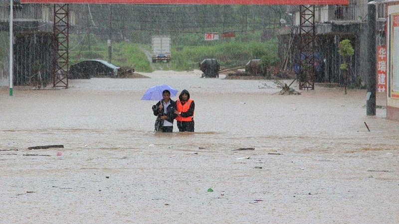 河南暴雨洪水