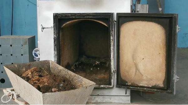 垃圾焚烧炉炉渣的再利用研究